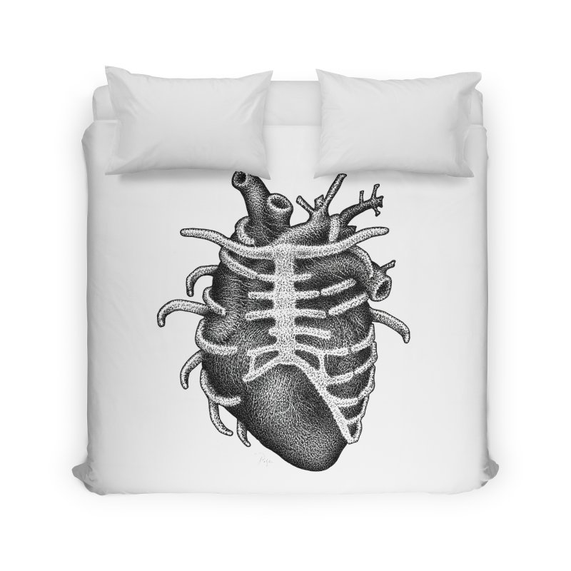 Big Heart by Igor Pose Home Duvet by IgorPose's Artist Shop