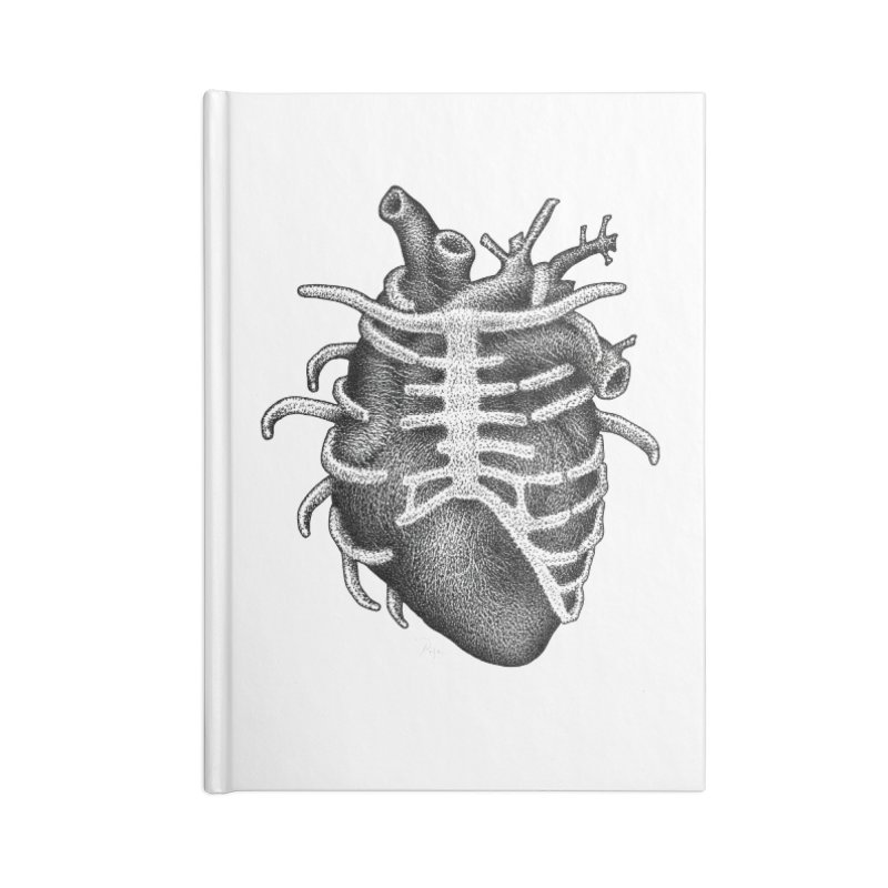 Big Heart by Igor Pose Accessories Lined Journal Notebook by IgorPose's Artist Shop