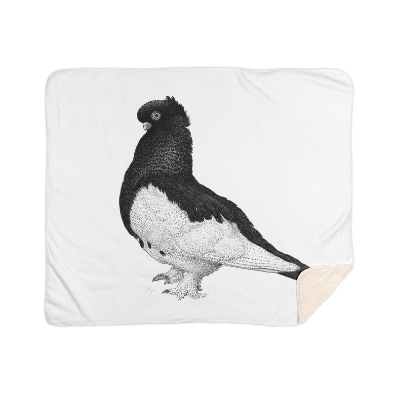 Dove by Igor Pose Home Sherpa Blanket Blanket by IgorPose's Artist Shop