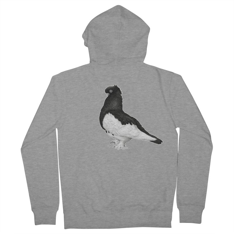 Dove by Igor Pose Women's French Terry Zip-Up Hoody by IgorPose's Artist Shop