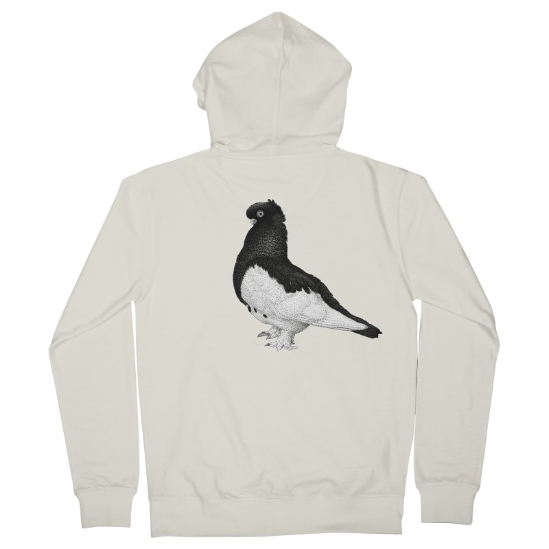 Dove by Igor Pose Men's French Terry Zip-Up Hoody by IgorPose's Artist Shop
