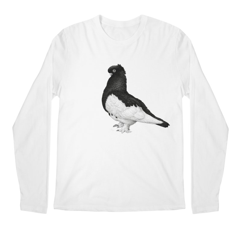 Dove by Igor Pose Men's Regular Longsleeve T-Shirt by IgorPose's Artist Shop
