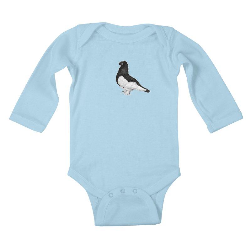 Dove by Igor Pose Kids Baby Longsleeve Bodysuit by IgorPose's Artist Shop