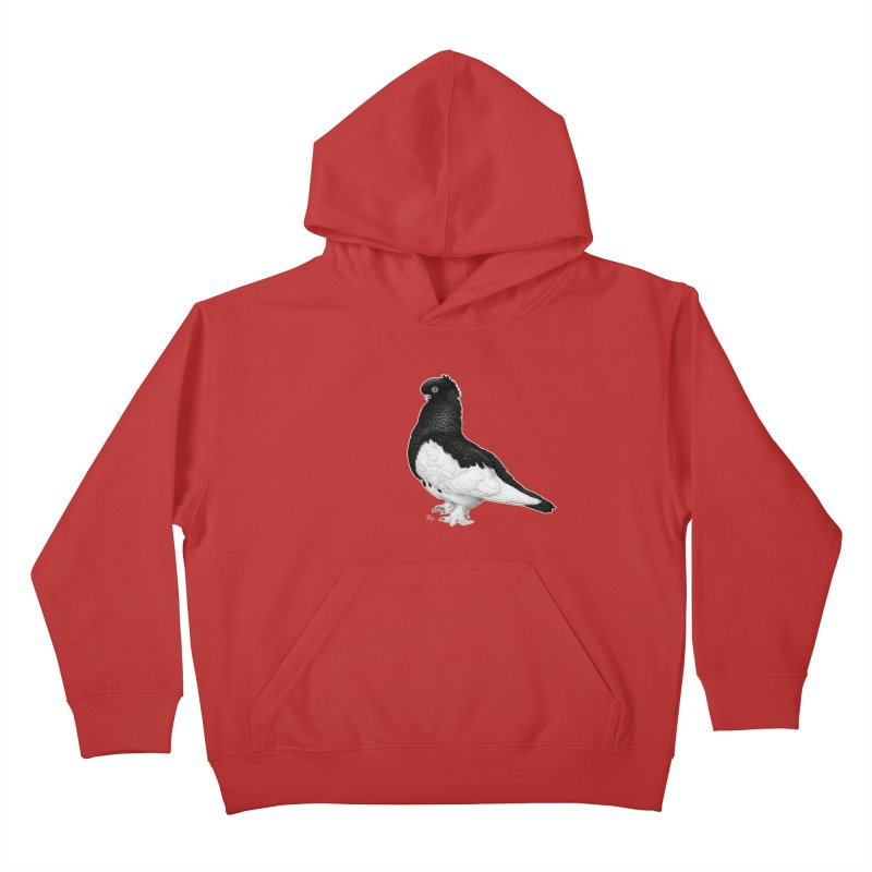 Dove by Igor Pose Kids Pullover Hoody by IgorPose's Artist Shop
