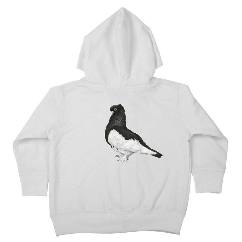Dove by Igor Pose Kids Toddler Zip-Up Hoody by IgorPose's Artist Shop