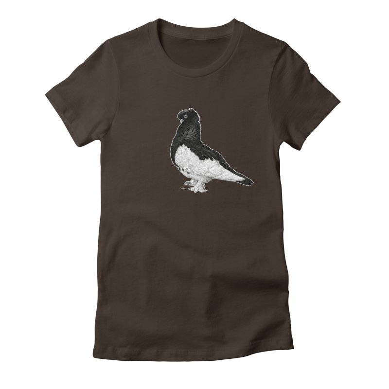 Dove by Igor Pose Women's Fitted T-Shirt by IgorPose's Artist Shop