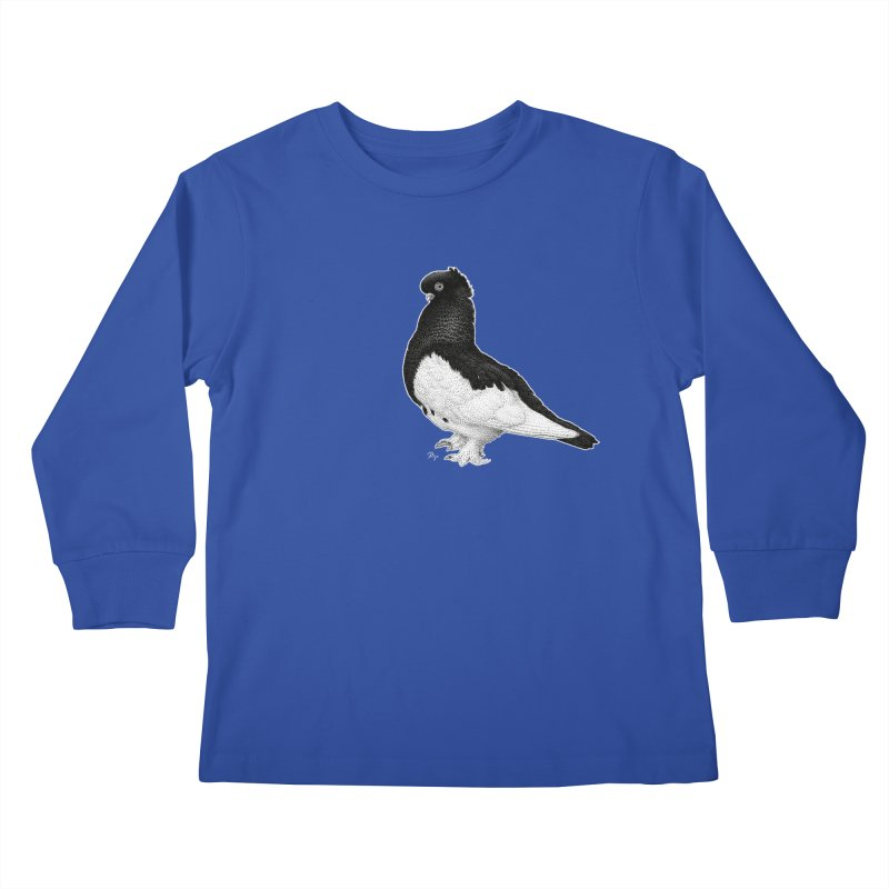 Dove by Igor Pose Kids Longsleeve T-Shirt by IgorPose's Artist Shop