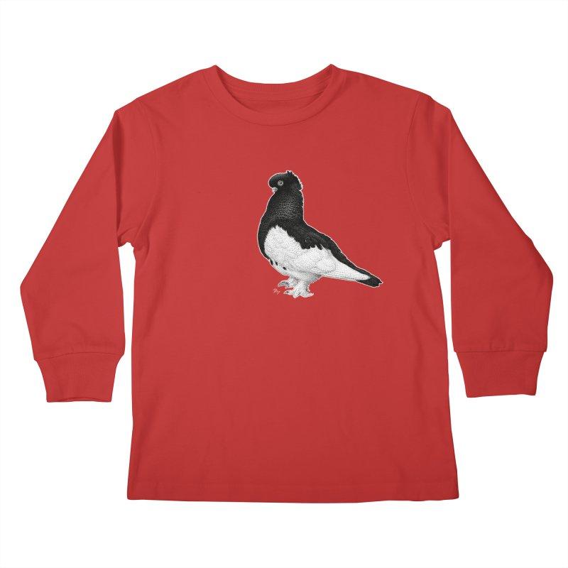 Dove by Igor Pose Kids Longsleeve T-Shirt by IgorPose's Artist Shop