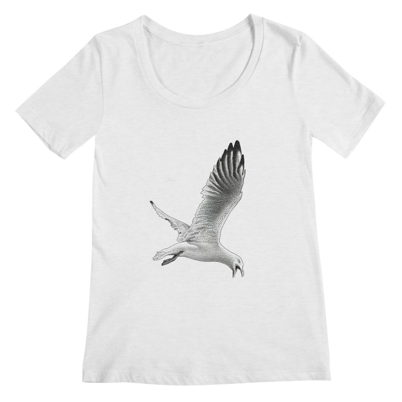 Point of View by Igor Pose Women's Scoopneck by IgorPose's Artist Shop