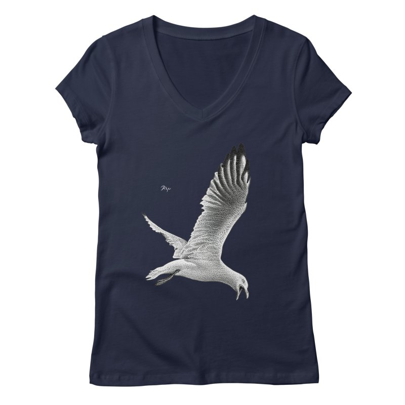 Point of View by Igor Pose Women's V-Neck by IgorPose's Artist Shop