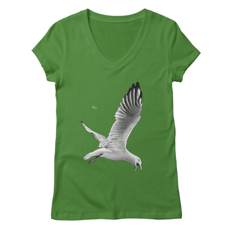 Point of View by Igor Pose Women's Regular V-Neck by IgorPose's Artist Shop