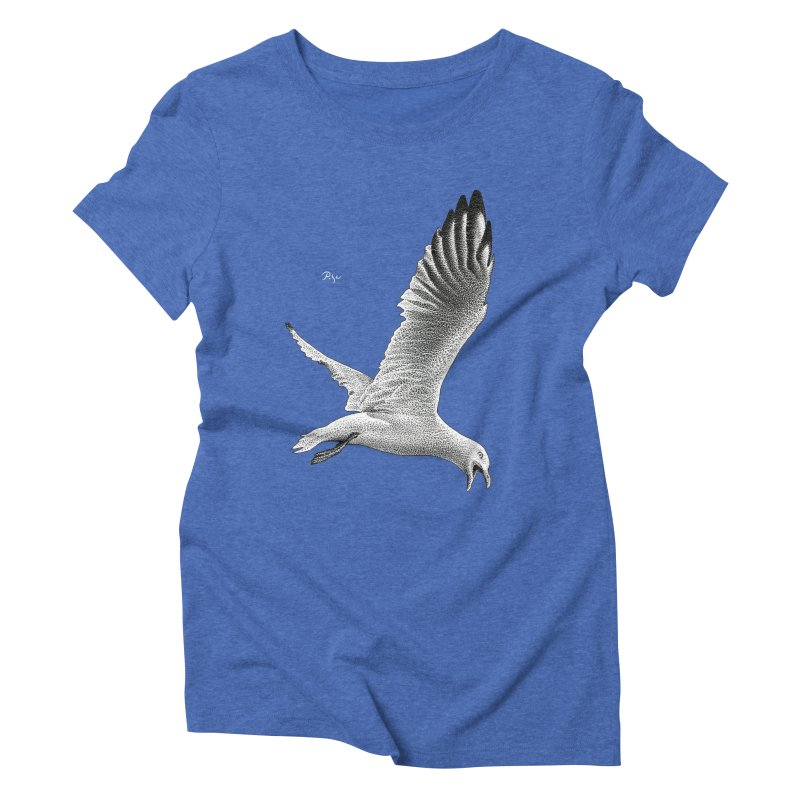 Point of View by Igor Pose Women's Triblend T-Shirt by IgorPose's Artist Shop