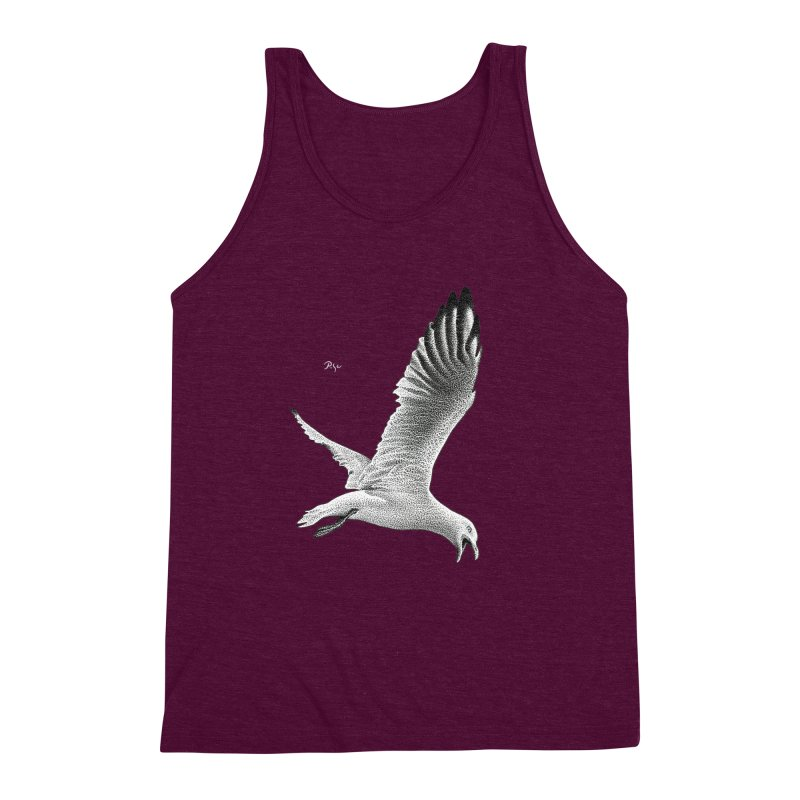 Point of View by Igor Pose Men's Triblend Tank by IgorPose's Artist Shop