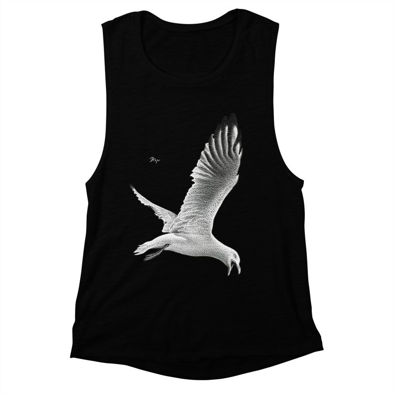 Point of View by Igor Pose Women's Muscle Tank by IgorPose's Artist Shop