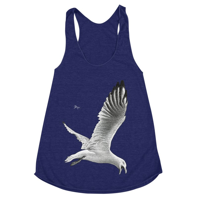 Point of View by Igor Pose Women's Racerback Triblend Tank by IgorPose's Artist Shop