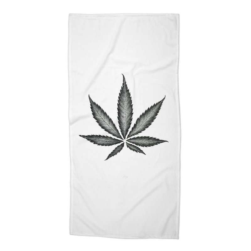 Greenlight Star by Igor Pose Accessories Beach Towel by IgorPose's Artist Shop