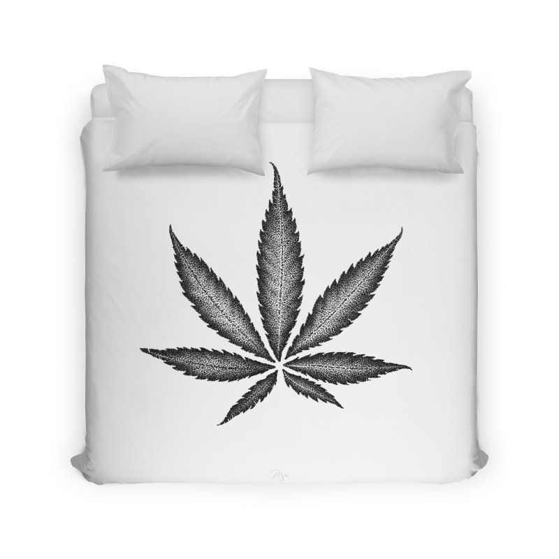 Greenlight Star by Igor Pose Home Duvet by IgorPose's Artist Shop