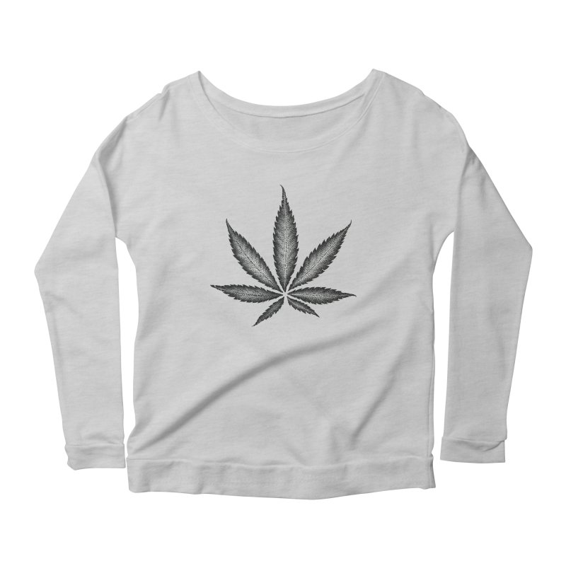 Greenlight Star by Igor Pose Women's Longsleeve Scoopneck  by IgorPose's Artist Shop