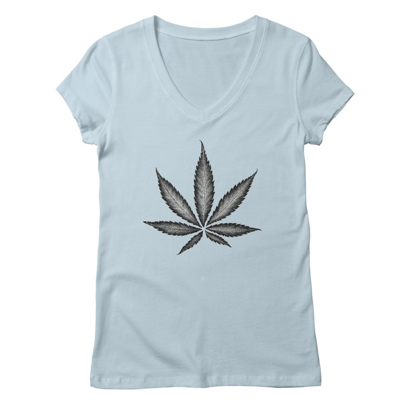 Greenlight Star by Igor Pose Women's Regular V-Neck by IgorPose's Artist Shop