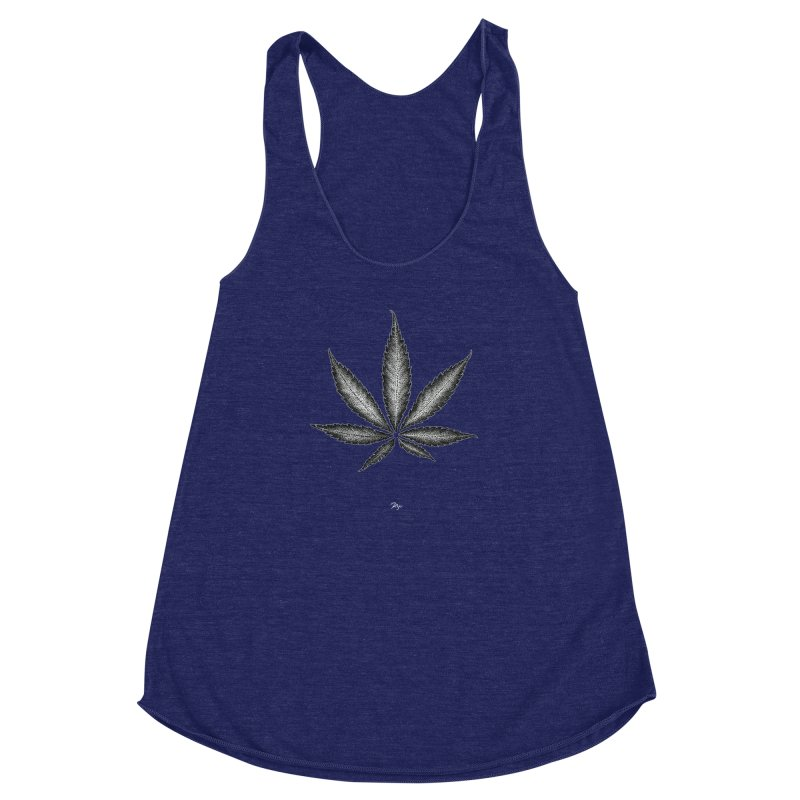 Greenlight Star by Igor Pose Women's Racerback Triblend Tank by IgorPose's Artist Shop