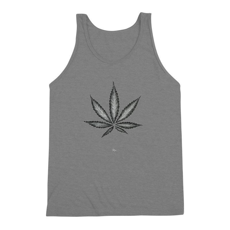 Greenlight Star by Igor Pose Men's Triblend Tank by IgorPose's Artist Shop