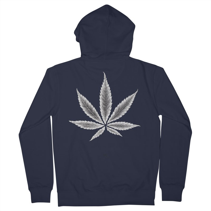 Greenlight Light Star by Igor Pose Men's French Terry Zip-Up Hoody by IgorPose's Artist Shop