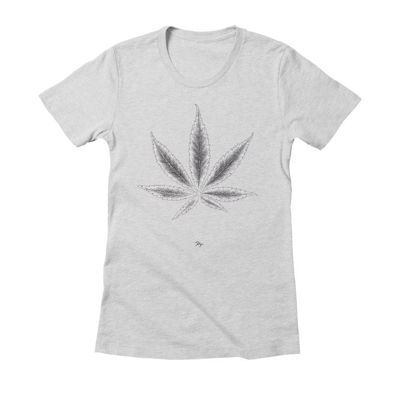Greenlight Light Star by Igor Pose Women's Fitted T-Shirt by IgorPose's Artist Shop