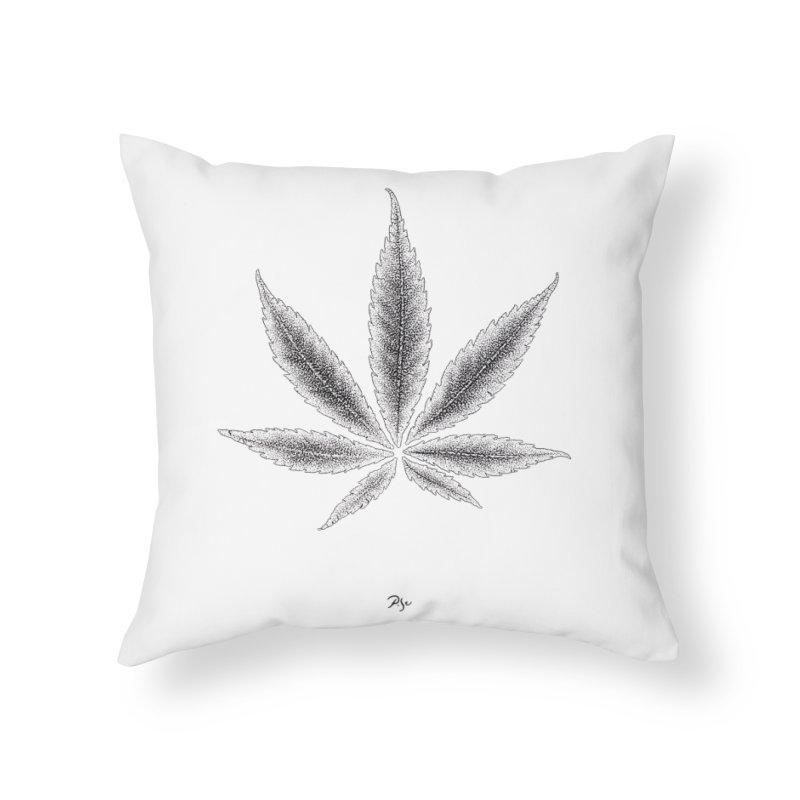 Greenlight Light Star by Igor Pose Home Throw Pillow by IgorPose's Artist Shop