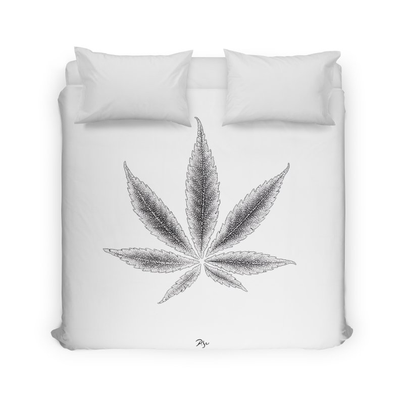 Greenlight Light Star by Igor Pose Home Duvet by IgorPose's Artist Shop