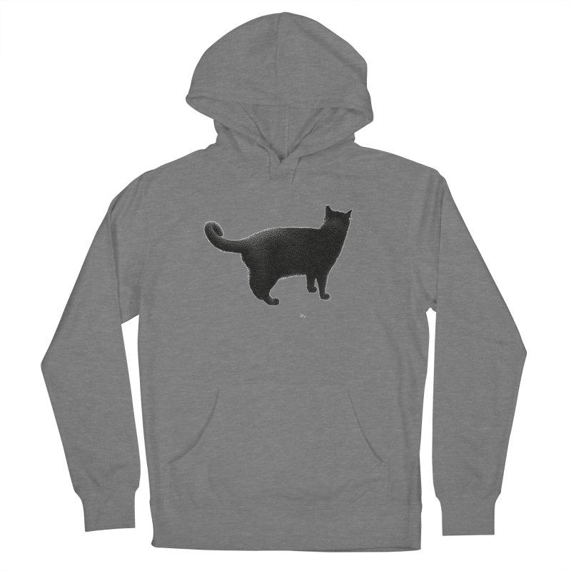 Black Cat by Igor Pose Women's Pullover Hoody by IgorPose's Artist Shop