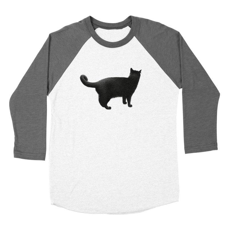 Black Cat by Igor Pose Women's Longsleeve T-Shirt by IgorPose's Artist Shop
