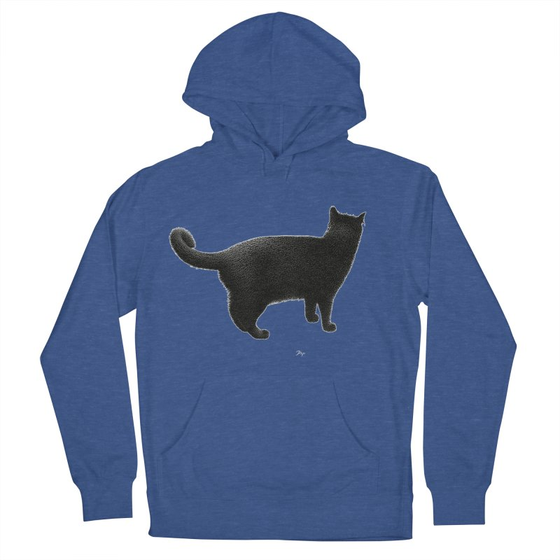 Black Cat by Igor Pose Men's Pullover Hoody by IgorPose's Artist Shop