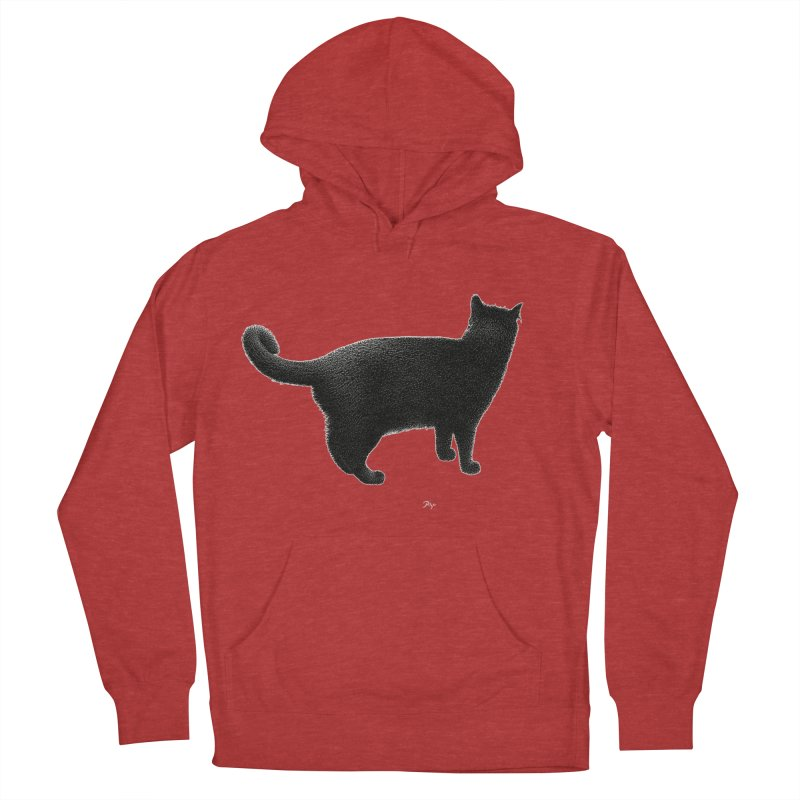Black Cat by Igor Pose Men's Pullover Hoody by IgorPose's Artist Shop