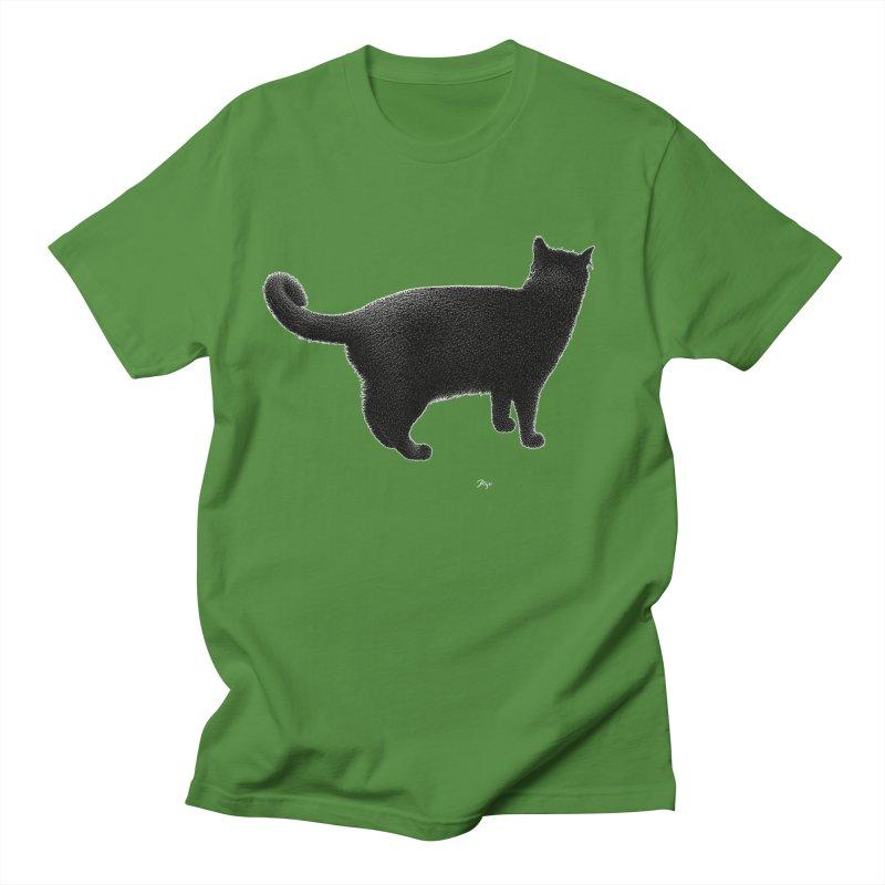 Black Cat by Igor Pose Women's Unisex T-Shirt by IgorPose's Artist Shop