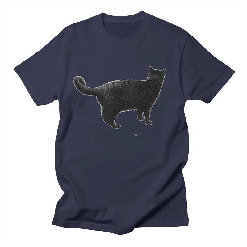 Black Cat by Igor Pose Women's Unisex T-Shirt by IgorPose's Artist Shop