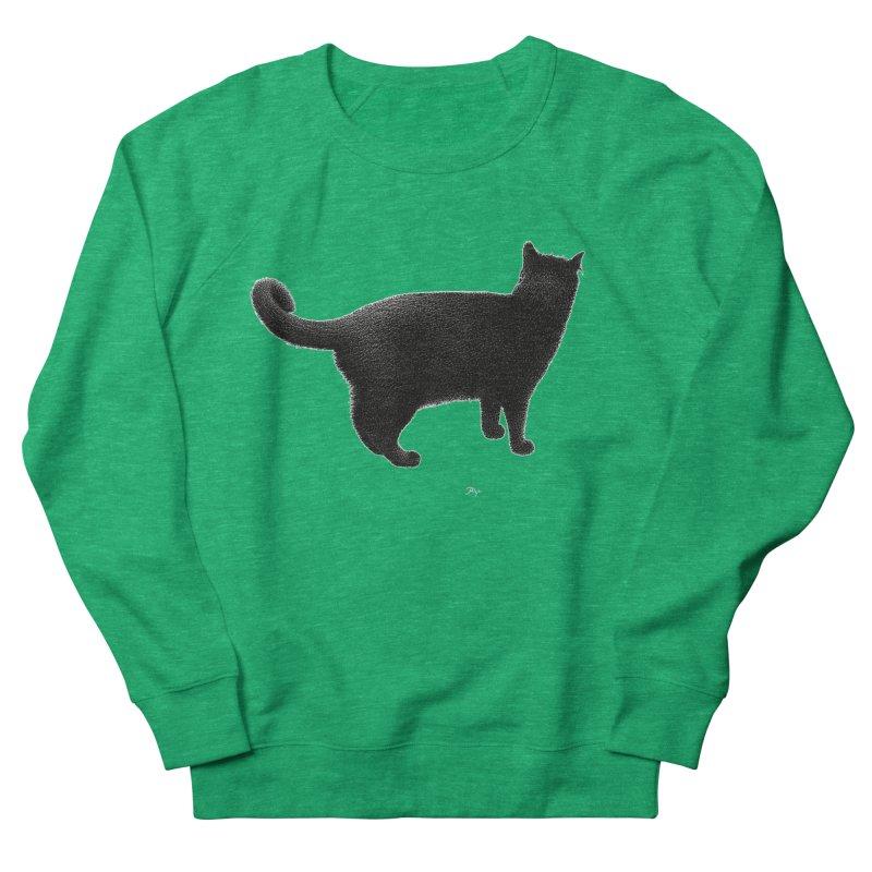 Black Cat by Igor Pose Men's Sweatshirt by IgorPose's Artist Shop