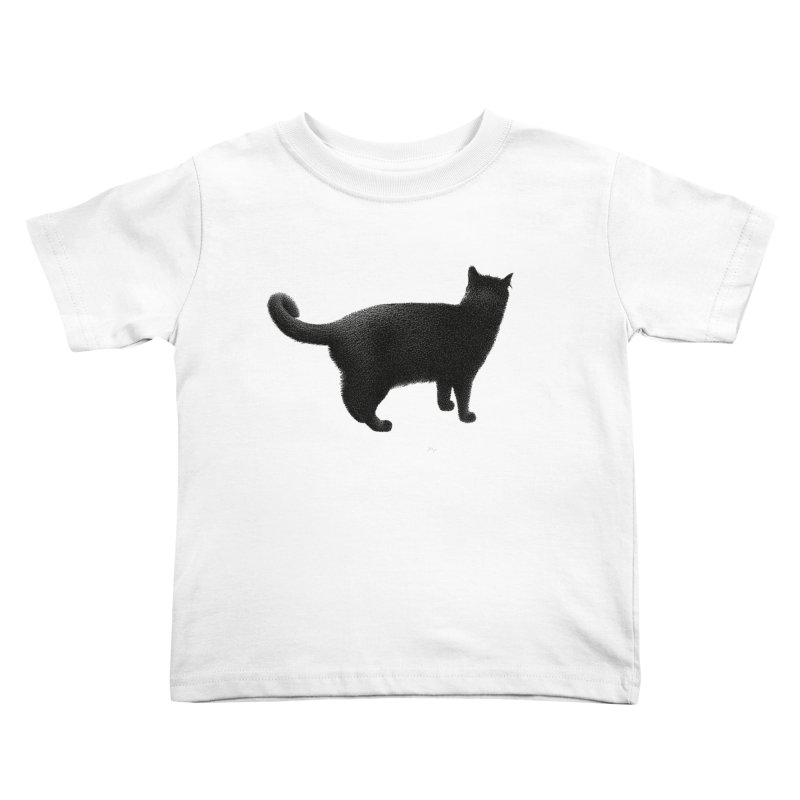 Black Cat by Igor Pose Kids Toddler T-Shirt by IgorPose's Artist Shop