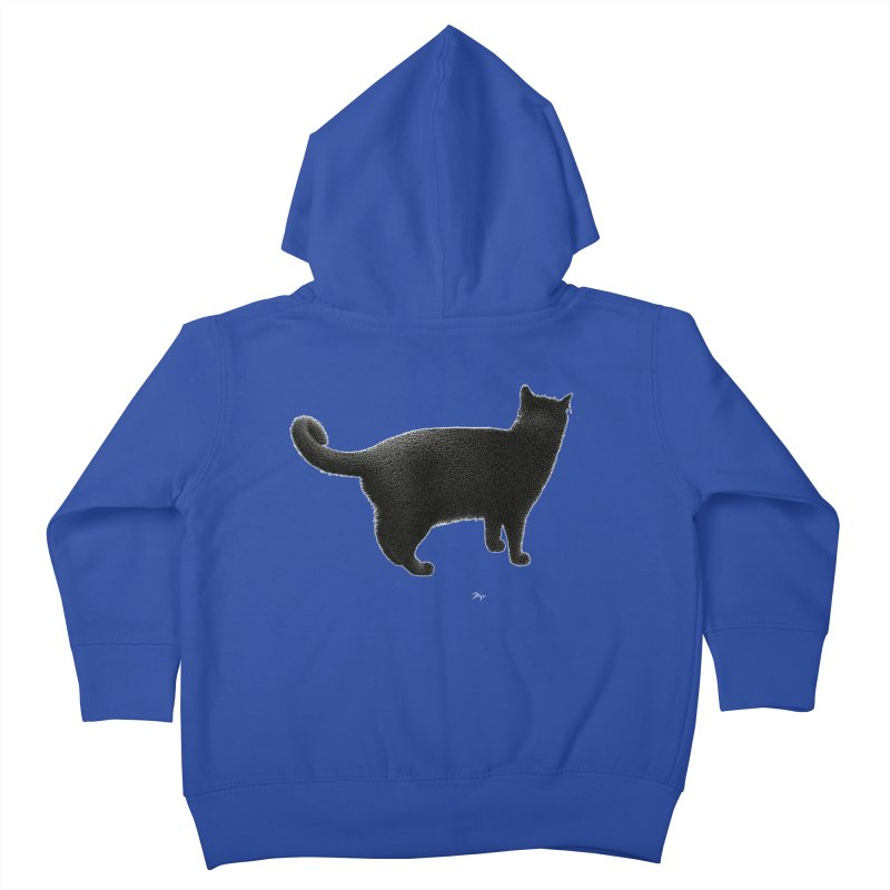 Black Cat by Igor Pose Kids Toddler Zip-Up Hoody by IgorPose's Artist Shop