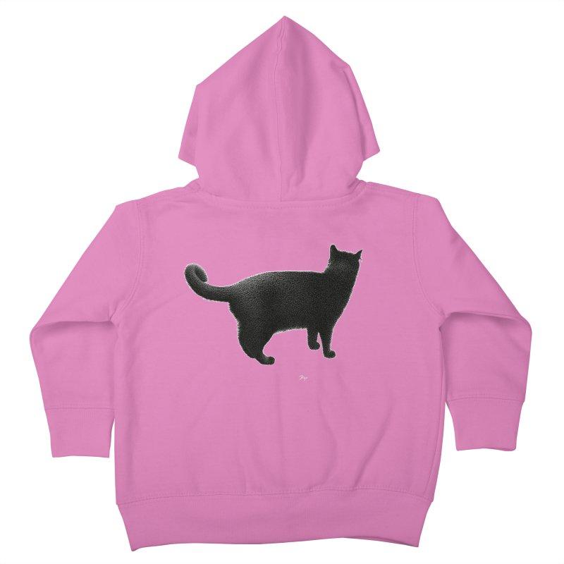 Black Cat by Igor Pose Kids Toddler Zip-Up Hoody by IgorPose's Artist Shop