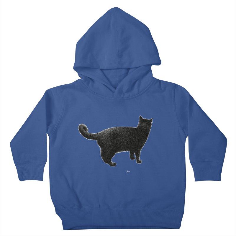 Black Cat by Igor Pose Kids Toddler Pullover Hoody by IgorPose's Artist Shop