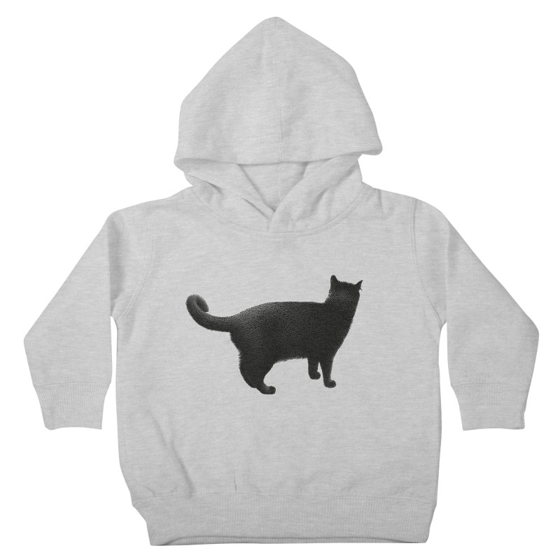 Black Cat by Igor Pose Kids Toddler Pullover Hoody by IgorPose's Artist Shop