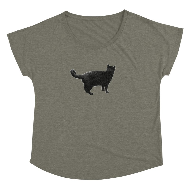 Black Cat by Igor Pose Women's Dolman by IgorPose's Artist Shop
