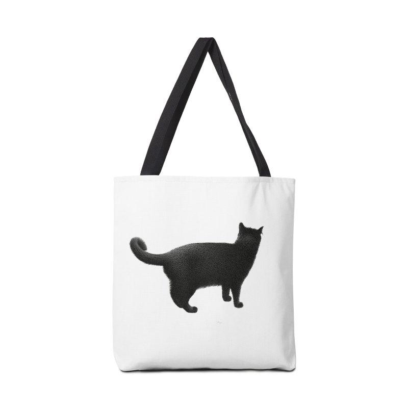 Black Cat by Igor Pose Accessories Bag by IgorPose's Artist Shop