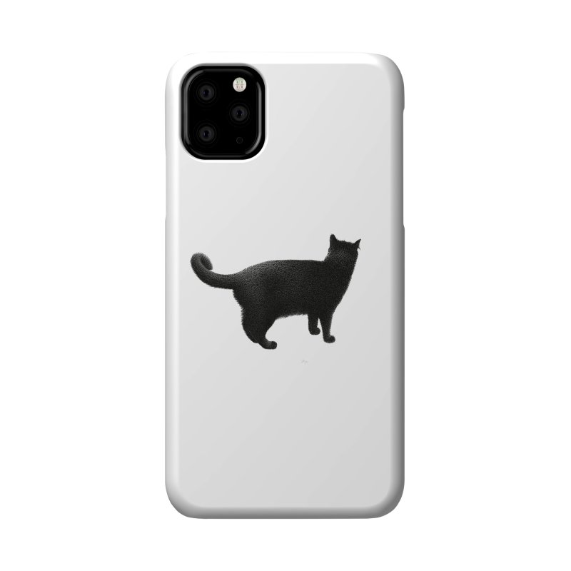 Black Cat by Igor Pose Accessories Phone Case by IgorPose's Artist Shop