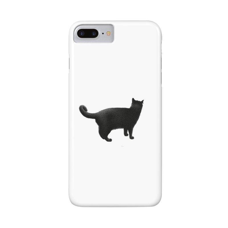 Black Cat by Igor Pose Accessories Phone Case by IgorPose's Artist Shop
