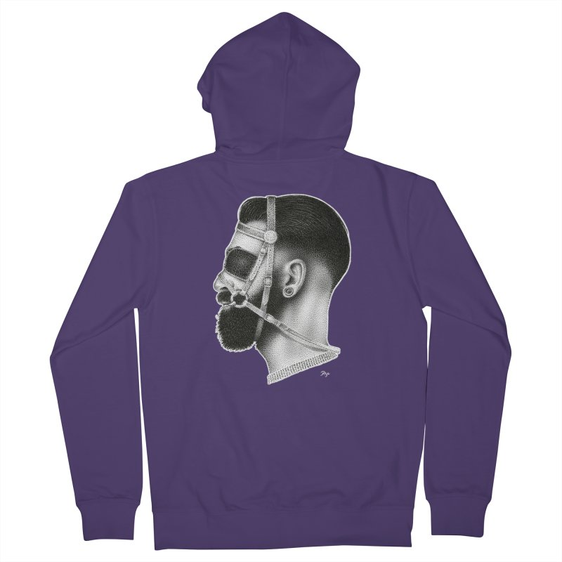 Contemporary Man by Igor Pose Women's French Terry Zip-Up Hoody by IgorPose's Artist Shop