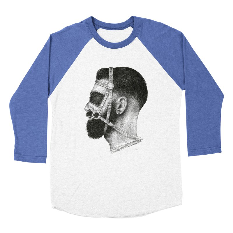 Contemporary Man by Igor Pose Women's Baseball Triblend Longsleeve T-Shirt by IgorPose's Artist Shop