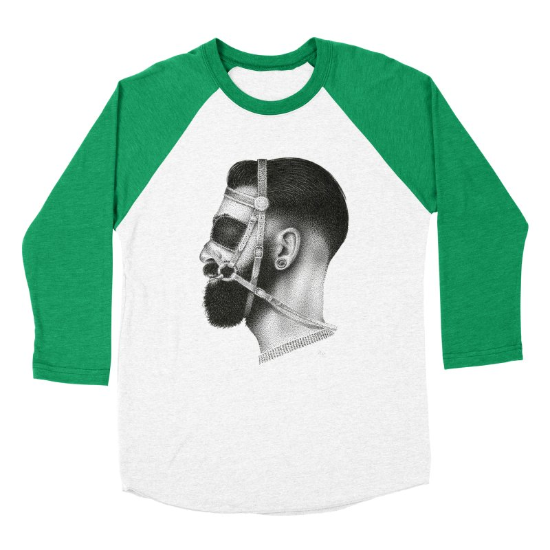 Contemporary Man by Igor Pose Women's Baseball Triblend T-Shirt by IgorPose's Artist Shop