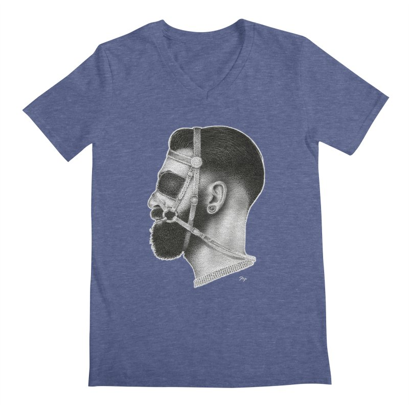 Contemporary Man by Igor Pose Men's V-Neck by IgorPose's Artist Shop