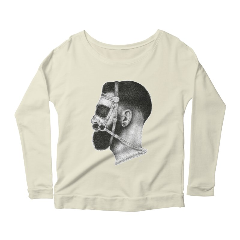 Contemporary Man by Igor Pose Women's Scoop Neck Longsleeve T-Shirt by IgorPose's Artist Shop